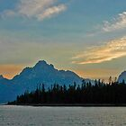 Teton Sunset by Harry Oldmeadow