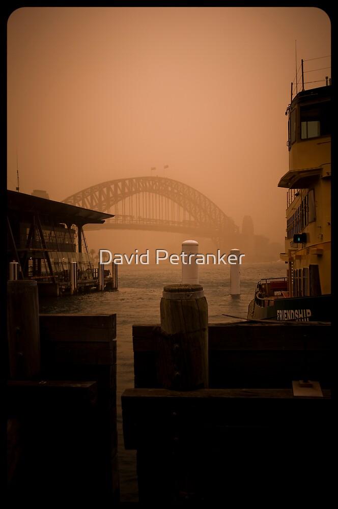 Sydney Dust storm - Friendship by David Petranker
