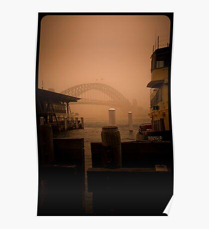 Sydney Dust storm - Friendship Poster