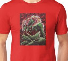 Murder in the Mesozoic Unisex T-Shirt