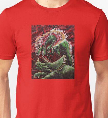 Murder in the Mesozoic Unisex T-Shirt