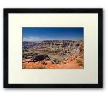 Grand Canyon West Rim Framed Print
