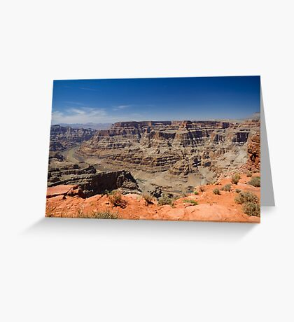 Grand Canyon West Rim Greeting Card