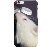 Albino Ferret with Treat iPhone Case/Skin