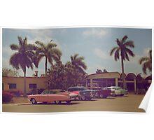 Cuban classic cars Poster