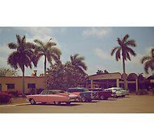 Cuban classic cars Photographic Print