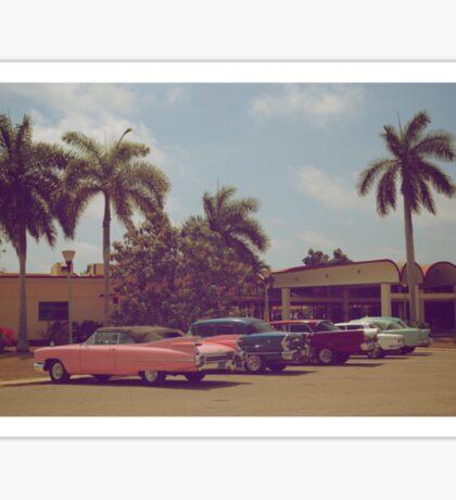 Cuban classic cars Sticker