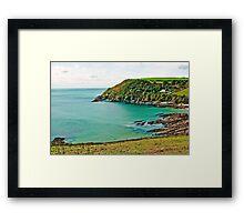 Talland Bay Framed Print