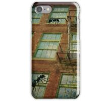 Invasion of the giant ants iPhone Case/Skin