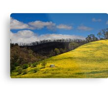 Clash of Seasons Metal Print