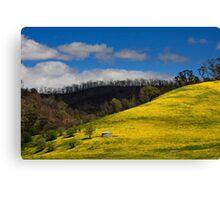 Clash of Seasons Canvas Print