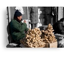 Ginger for Sale Canvas Print