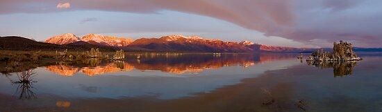 Mono Lake Panorama by Zane Paxton