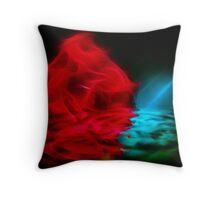 Rose Bloom III Throw Pillow