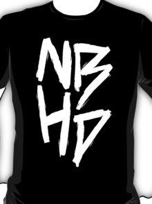 The Neighbourhood (White on Black Version) T-Shirt
