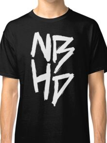 The Neighbourhood (White on Black Version) Classic T-Shirt