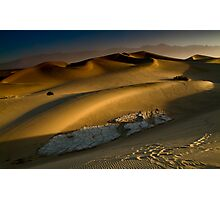 Dawn on the Stovepipe Wells Dunes Photographic Print
