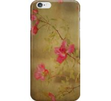 Vintage Rosebush iPhone Case/Skin