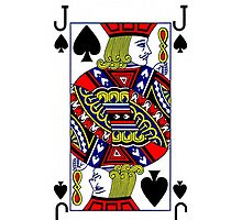 Smartphone Case - Jack of Spades by Mark Podger