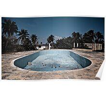Deserted pool Poster