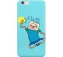 Finn High Five - Part 2 iPhone Case/Skin