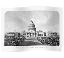 US Capitol Building Washington DC Poster
