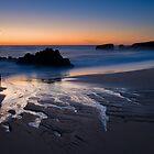 Last Light at Yellow Bank Creek Beach by Zane Paxton