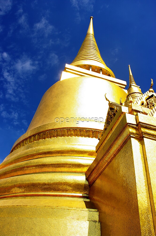 Golden Chedi by openyourap