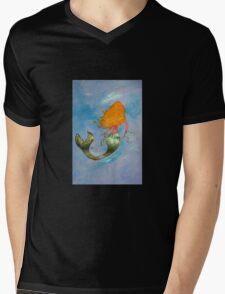 Mermaid Dori Mens V-Neck T-Shirt