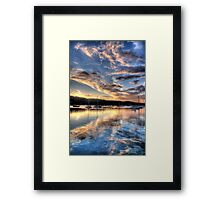 Meditation - Newport- The HDR Experience Framed Print