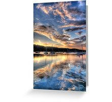 Meditation - Newport- The HDR Experience Greeting Card