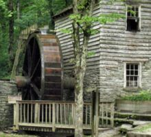 """Rice Grist Mill""... prints and products Sticker"