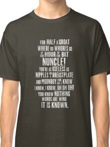 ASOIAF Phrases Classic T-Shirt