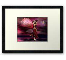 The Mystic's dance Framed Print