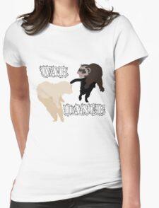 Ferrets War Dance Womens Fitted T-Shirt