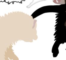 Ferrets War Dance Sticker