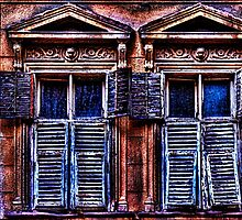 Mystical Windows Fine Art Print by stockfineart