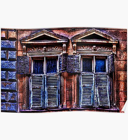 Mystical Windows Fine Art Print Poster