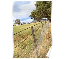 fenced Poster
