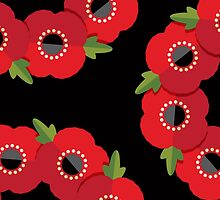 Red Poppies by daisy-beatrice