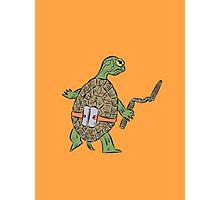 Hatchling Ordinary Ninja Turtles - Mikey Photographic Print