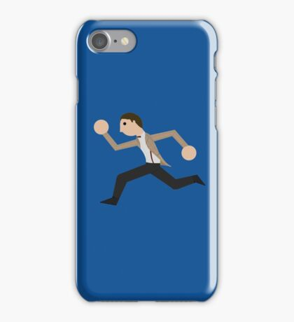 Run, Eleventh Doctor, Run! iPhone Case/Skin