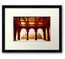 Bethesda Terrace - Central Park, New York City Framed Print