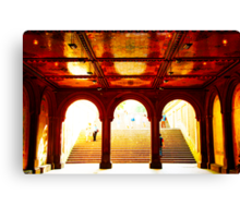 Bethesda Terrace - Central Park, New York City Canvas Print