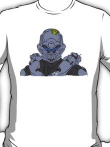 Spartan Locke Headshot Celtic Colored T-Shirt