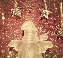 snowman xmas card by 1001cards