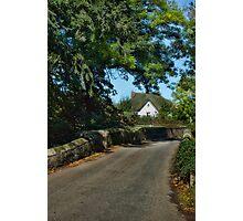 Fordton, Crediton, Devon Photographic Print