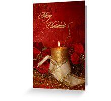 candle light 01 (Christmas card) Greeting Card