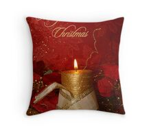 candle light 01 (Christmas card) Throw Pillow