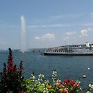 Lakeside in Geneva by Susan Misicka